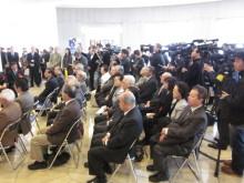 高岡市観光協会のブログ-松原秀典原画展(開会式)