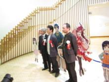 高岡市観光協会のブログ-松原秀典原画展(写真撮影)