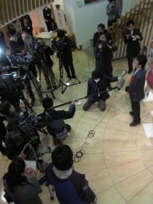 高岡市観光協会のブログ-松原秀典原画展(共同記者会見)