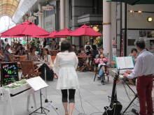 大仏君の日記帳(高岡市観光協会のブログ)-オタヤオープンカフェ「願い」