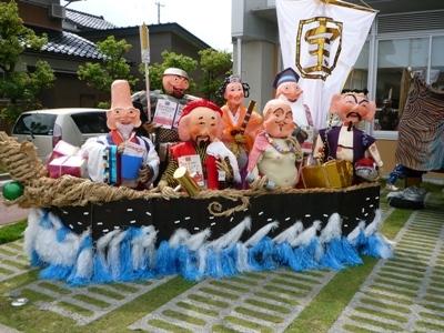 大仏君の日記帳(高岡市観光協会のブログ)-中田かかし祭り