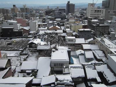 大仏君の日記帳(高岡市観光協会のブログ)-積雪状況