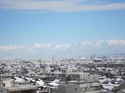 大仏君の日記帳(高岡市観光協会のブログ)-立山連峰