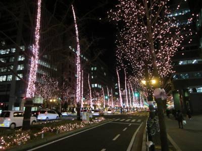 大仏君の日記帳(高岡市観光協会のブログ)-御堂筋 光のルネサンス