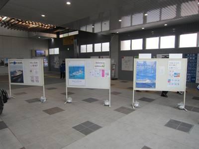 大仏君の日記帳(高岡市観光協会のブログ)-クルーズ客船のポスター展