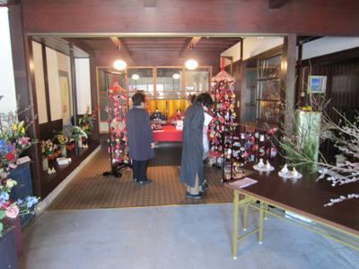 大仏君の日記帳(高岡市観光協会のブログ)-山町筋のひなまつり