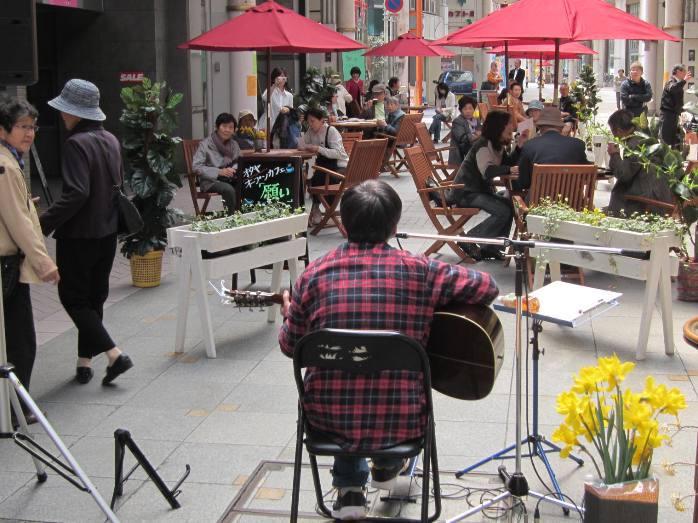 オタヤ願い道オープンカフェ「願い」