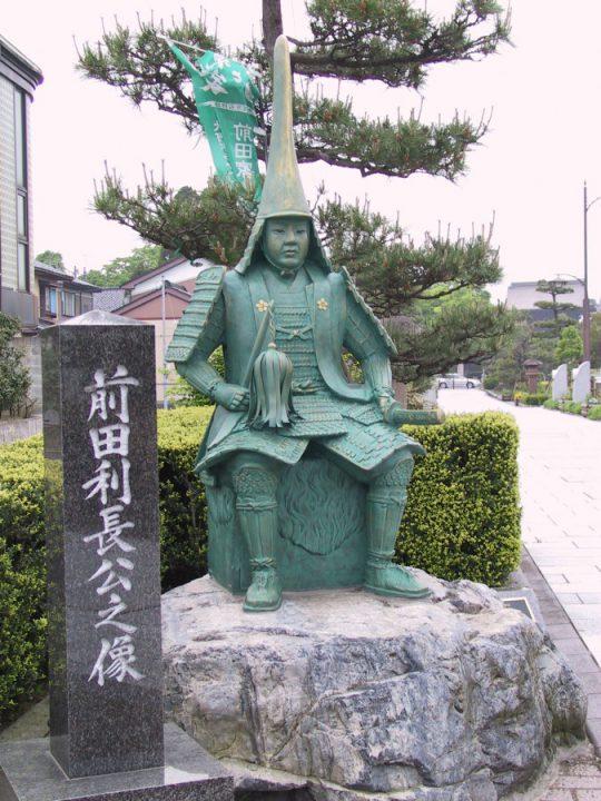 前田利長像(八丁道)IMG